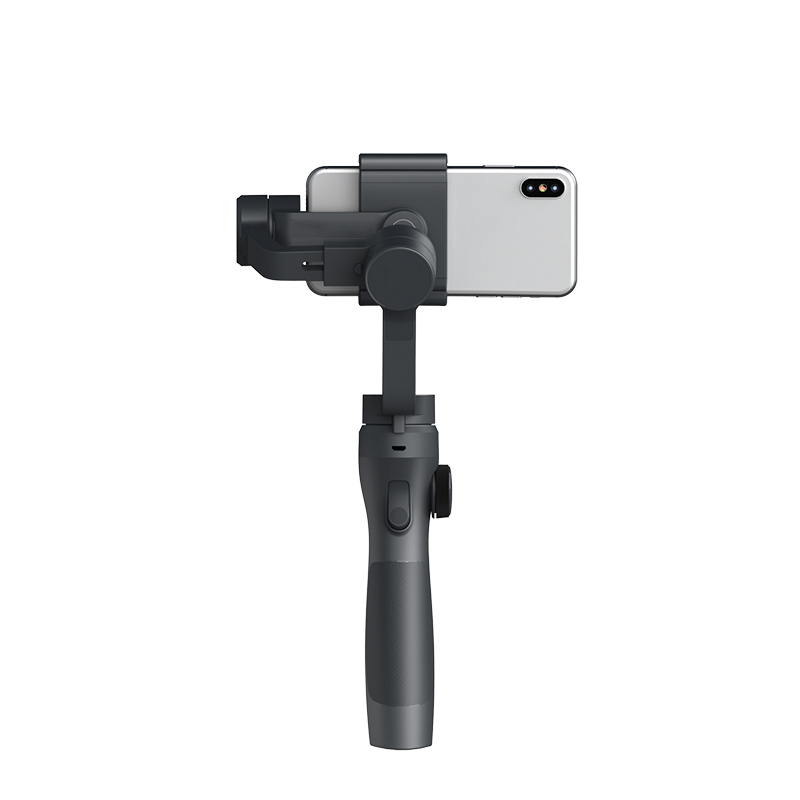 Handheld Gimbal Stabilizer Portable Smooth with PhoneGO FPV Mode AI Tracking for Smartphone Action Camera