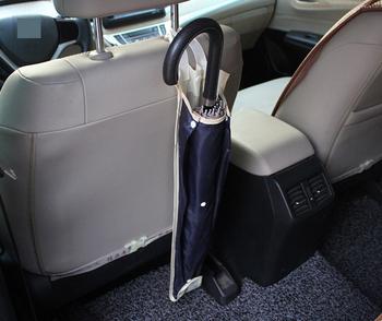Przez DHL lub Fedex 100 sztuk kieszeń na tylne siedzenie samochodu torba 80cm poliester samochodów wisząca torba do przechowywania na parasol rozmaitości uchwyt tanie i dobre opinie Black Car Seat Back Storage Bag Polyester Sundries Holder 10023187 0 051