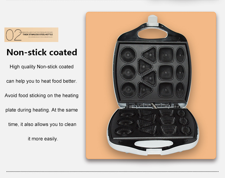 Household Biscuit Machine Breakfast Machine Scone Cake Cake Electric Baking Pan KC 1105 Toasters    - title=