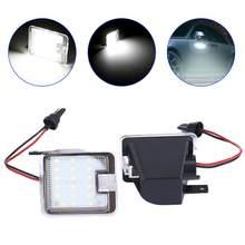 Luces Led para espejo retrovisor de coche, 2 uds., SMD, para Ford Mondeo MK4 IV 2008 2009 2010 2012 - 2014