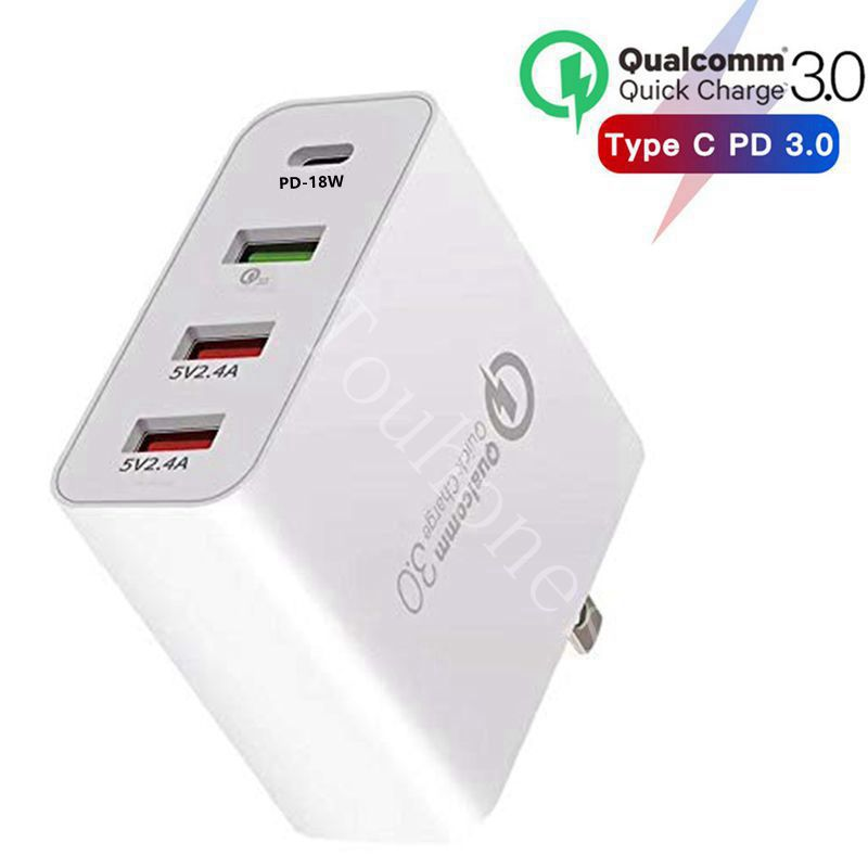 Quick-Charger Tablet Au-Plug-Adapter Multi Huawei iPhone Pd-Type Samsung Fast 48W USB