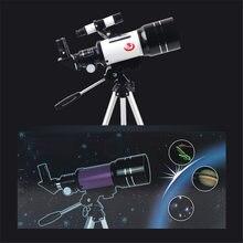 70 мм Портативный астрономический телескоп с штатив мобильный