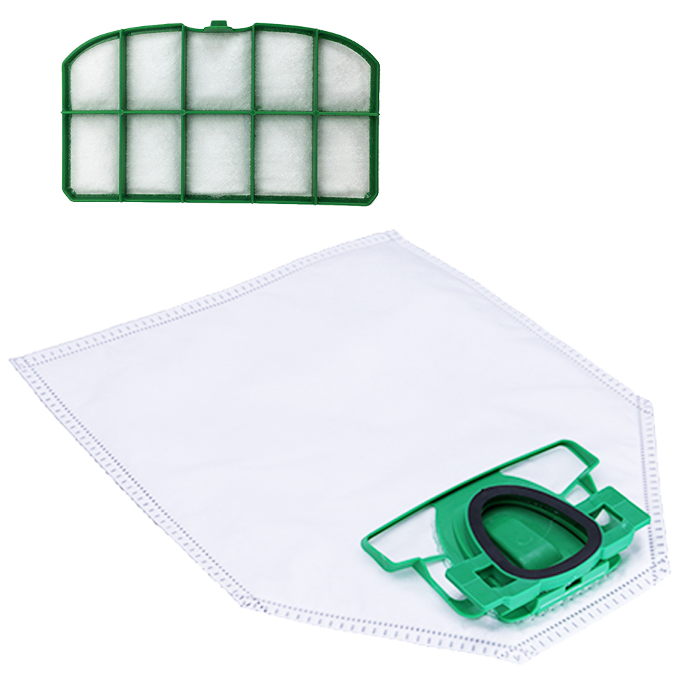 6x Replacement Vacuum Cleaner Dust Bags For Vorwerk Cleaner VK200 FP200 Cleaner Filter Bag Filter Accessory