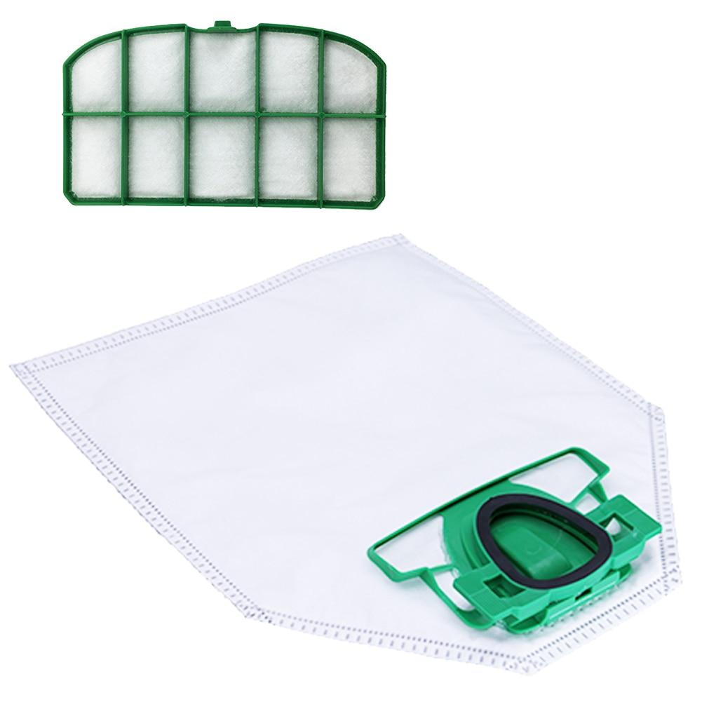 Replacement Vacuum Cleaner Dust Bags For Vorwerk Cleaner VK200 FP200 Cleaner Filter Bag Filter Accessory