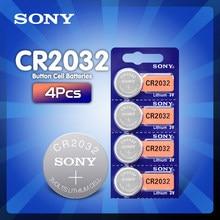 2020 nowy 4 sztuk cr2032 bateria 3v komórka przycisku baterie monety na zegarek komputer cr 2032 DL2032 ECR2032 KL2032 5004LC