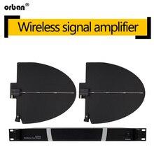 U-segment wireless microphone distance antenna amplifier super far reception stage performance signal booster