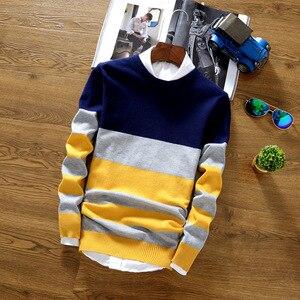 2019 Fashion Brand Splice Stripe Cotton