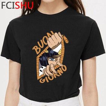 New Jojo Bizarre Adventure Funny T Shirt Men Cool Anime Harajuku T-shirt Summer Hip Hop Tshirt Fashion Streetwear Top Tees Male
