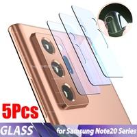 5PCS For Galaxy Note 20 Ultra Camera Lens Film anti-scratch HD Flexible Glass film for Samsung Note 20 camera glass s20 s10 film