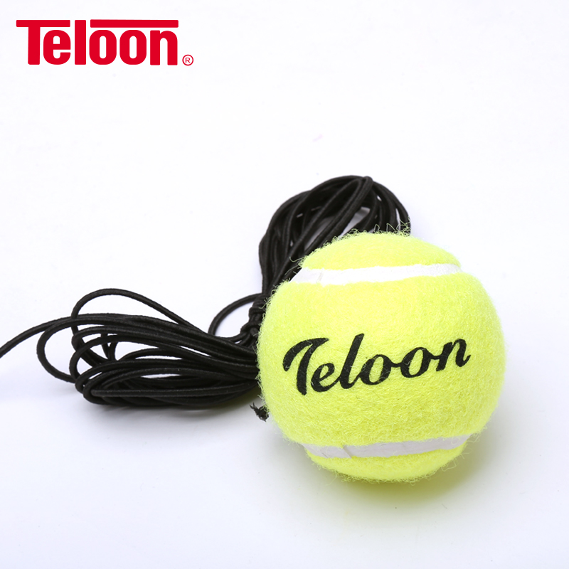 2Pcs/lot Teloon Tennis Single Trainer with Rope Elastic Boxing Reaction Ball Speed Ball Magic Ball K005SPB