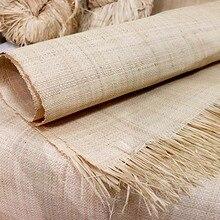 1,2x1 м из натурального с перекрестными шнурками из волокна «раффия» коврик ручной ткацкий соломенная Подушка домашний ручка для двери или шк...