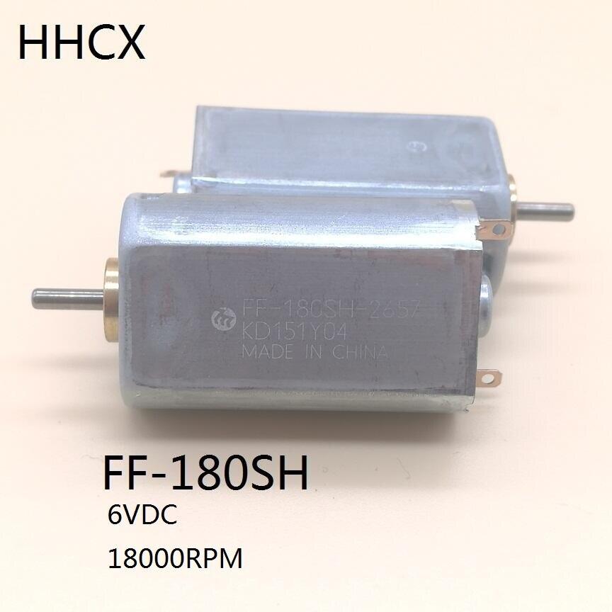 1PCS FF-180SH-2657 motor große drehmoment kleine DC motor 180 6VDC 18000RPM für spielzeug auto DIY Elektrische rasierer zubehör FF-180SH