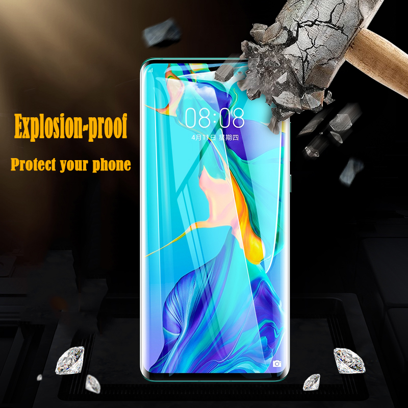 3PCS Protective Tempered Glass on the For Huawei P20 P30 P10 Lite Pro Screen Protector film For Huawei mate 10 20 lite pro glass Pakistan