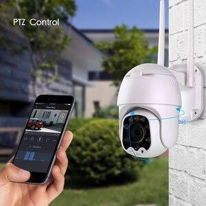 Image 4 - Inesun 1080P PTZ Wireless IP Kamera Im Freien Mini WiFi Sicherheit Speed Dome Kamera AI Auto Tracking Farbe Nachtsicht CCTV Kamera