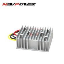 24V bis 48V Lange Arbeits Stunden Boost Konverter 16V 18V 20V 22V 25V 26V 28V DC DC Schritt-up 1a-6a 48w-288w Aluminium Power