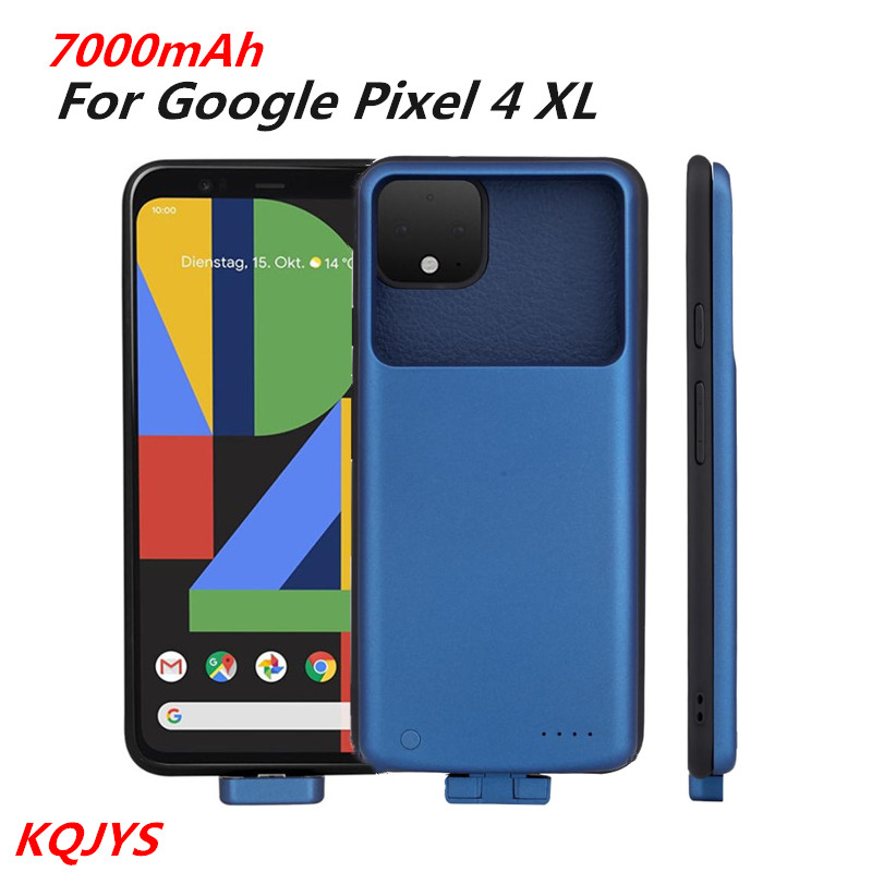 Magnetic Battery Charger Cases For Google Pixel 4 XL Portable Power Bank Battery Case For Google Pixel 4 XL Charging Cover
