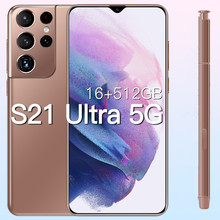 Versão global galxy s21ultra 5g 16gb 512gb 6.7 Polegada android11 smartphone 6800mah tela cheia deca núcleo lte rede telefone móvel