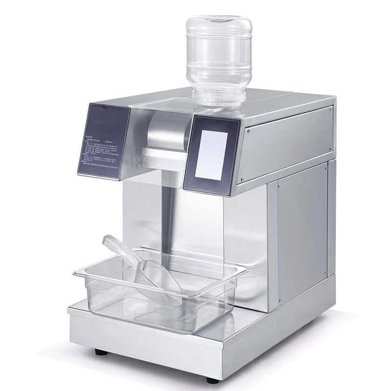 1200W Automatic Milk Snow Ice Machine Tea Shop Ice Machine Water-cooled Korean Thin Ice Machine 1200W