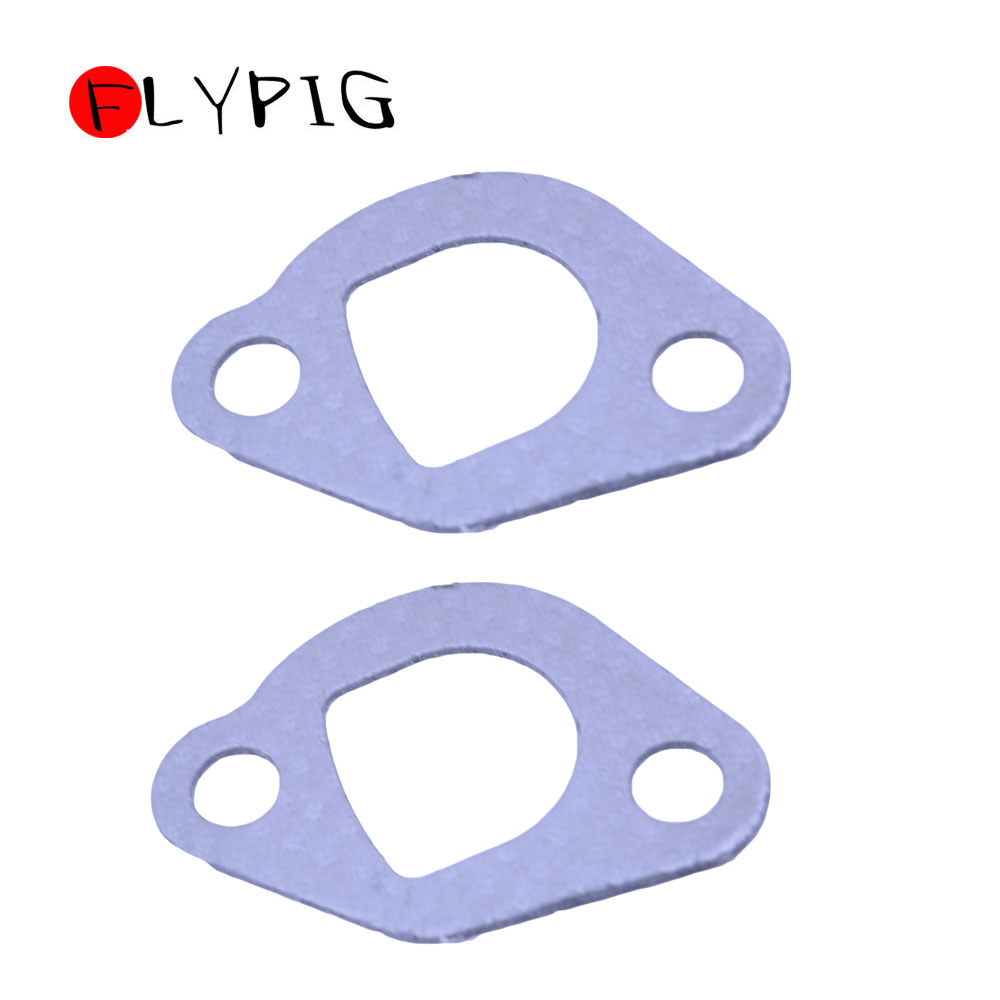 FLYPIG Exhaust Muffler Gasket For Honda GX160 5.5 HP GX200 6.5HP 168/170F 16212-ZE0-800