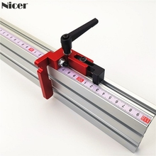 75mm Height With T-tracks Stop Miter Gauge Table Saw Aluminium Profile 75mm Height T-tracks Stopper Wood Working Tool cheap NoEnName_Null t track stop 75mm Height with T-track Stop T-Slot T-Tracks Aluminum alloy Red(As Pictures Show) T-Slot T-Tracks
