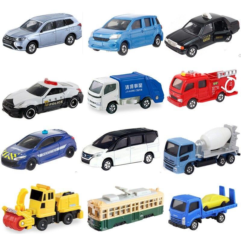 Takara TOMY Tomica – voiture en alliage moulé sous pression, modèle de Bus ingénierie camion pelle à feu chariot élévateur Lotus McLaren mélangeur Taxi jouets pour garçon