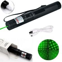 Green Laser Sight Laser USB Charge 303 Pointer Light 532nm 5mw High Power Device Lazer laser