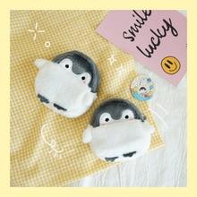 Cute Penguin Plush Mini Wallet Soft Positive Energy Penguin Plush Coin Purse Girls Lovers Valentine's Gifts