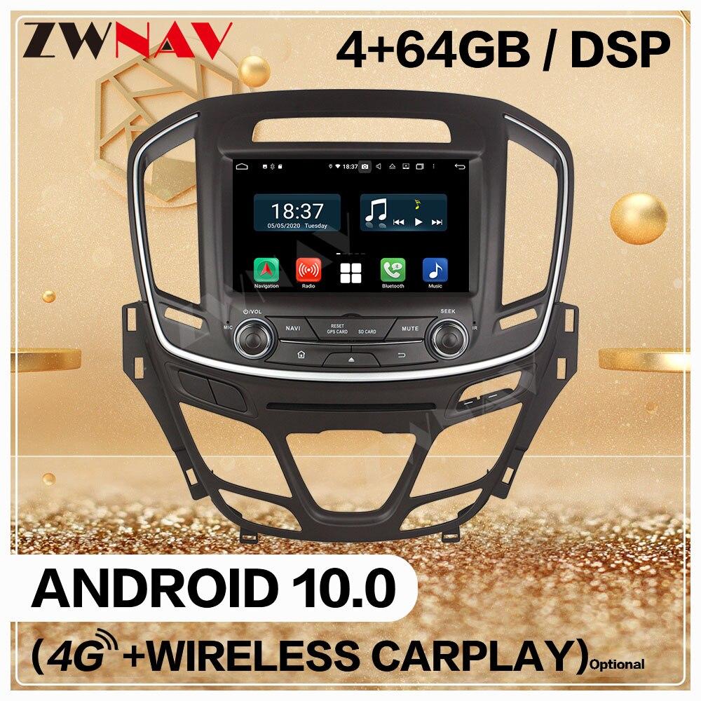 128G Carplay 2 Din для Opel Insignia 2014 2015 2016 2017 2018 Android 10 мультимедийный плеер экран Аудио Радио GPS навигация головное устройство