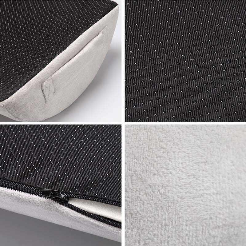 Memory Foam Travel Neck Support หมอนรองศีรษะเท้า-rest เบาะรถ Auto Back-rest Pad เก้าอี้ Recliner หมอนอิง