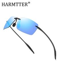2019 Fashion Men Sunglasses TR90 Polarized Lens Brand Designer Driving high quality Rimless Sun Glasses Oculos De Sol UV400 все цены
