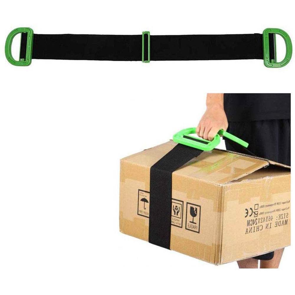 QWORK Adjustable Moving Lifting Straps For Furniture Boxes Or Other Heavy Bulky Awkward Objects Single Or Two Person Carrying