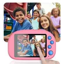 New 8GB Kids HD Wifi Digital Camera 2.8 LCD Mini Double Lens Doughnut Waterproof Cute Children Birthday/Christmas Gift