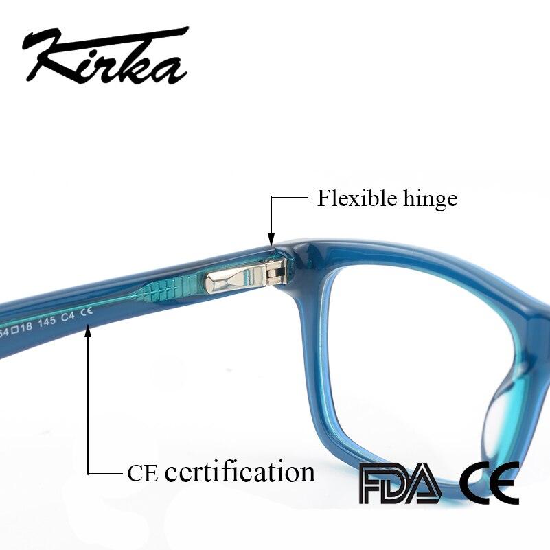 Image 4 - Kirka Men Glasses Frame Retro Designer Myopia Brand Optical Clear Lens Eyeglasses Men Glasses Frame for Menframes for menoptical frames for mendesigner optical frames -