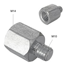 1PCS M10 M14 Angle Grinder Polisher Interface Connector Converter Adapter Screw Connecting Rod Power Accessories Thread Adapters