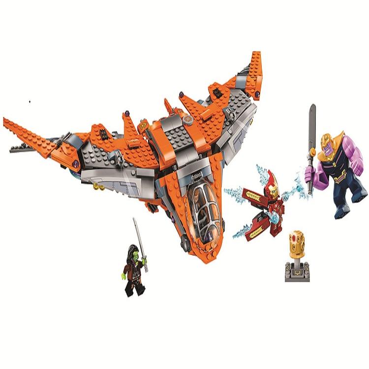 Супер Герои танос конечная битва Marvel Fit Мстители 4 эндигра Бесконечность войны Legoinglys 76107 строительный блок кирпичная игрушка