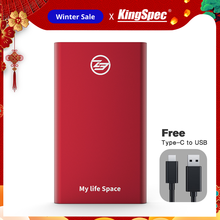 Wholesale KingSpec 64GB 128GB 256GB 512GB External SSD Type c USB 3 1 Portable SSD HD
