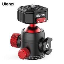Ulanzi U100-trípode de liberación rápida con cabezal de bola panorámica, adaptador para cabeza de bola, rotación de 360 °, 20KG de carga, soporte para zapata fría