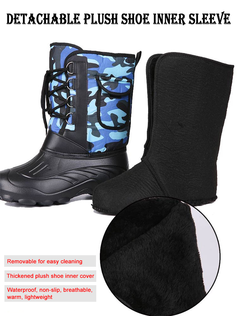 dwaterproof água botas de borracha de pesca