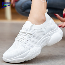 Soft Loafers Flats Platform-Sneakers Damyuan-Shoes Knitting Breathable Women Ladies New-Fashion