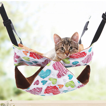 Four seasons universal pet cat canvas hammock removable and washable litter