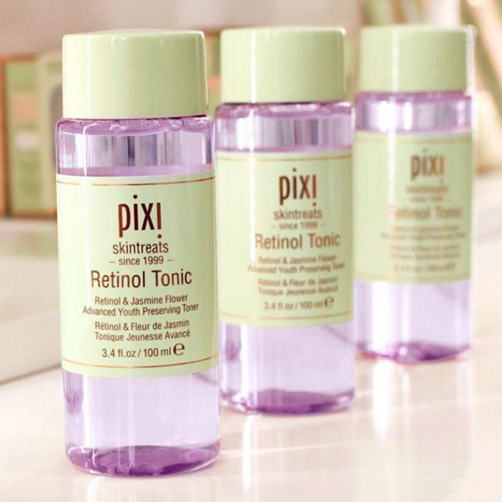 Pixi Retinol Tonic Toner Anti-wrinkle Firming Skin-soothing Toning Convergence Fine Lines Vitamin C/ Milky Toner Face Care 100ml
