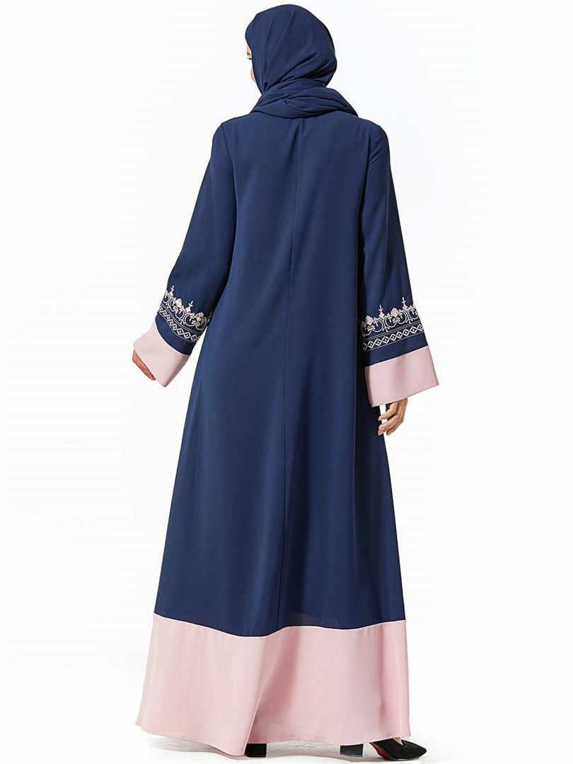 אדום מוסלמי העבאיה דובאי חיג 'אב שמלת בגדים אסלאמיים Abayas נשים האיסלאם קפטן גלימת קפטן תורכי שמלות Baju המוסלמי Wanita