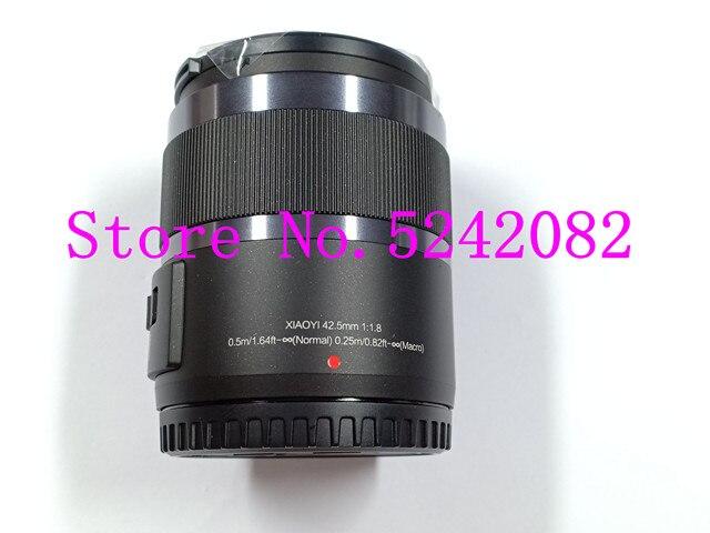Nuevo 42,5mm F1.8 lente fijo para YI M1 para Panasonic GF6 GF7 GF8 GF9 GF10 GX85 G85 G6 G7 G8M GX7MX2 GX9 GM1 GM5 Cámara