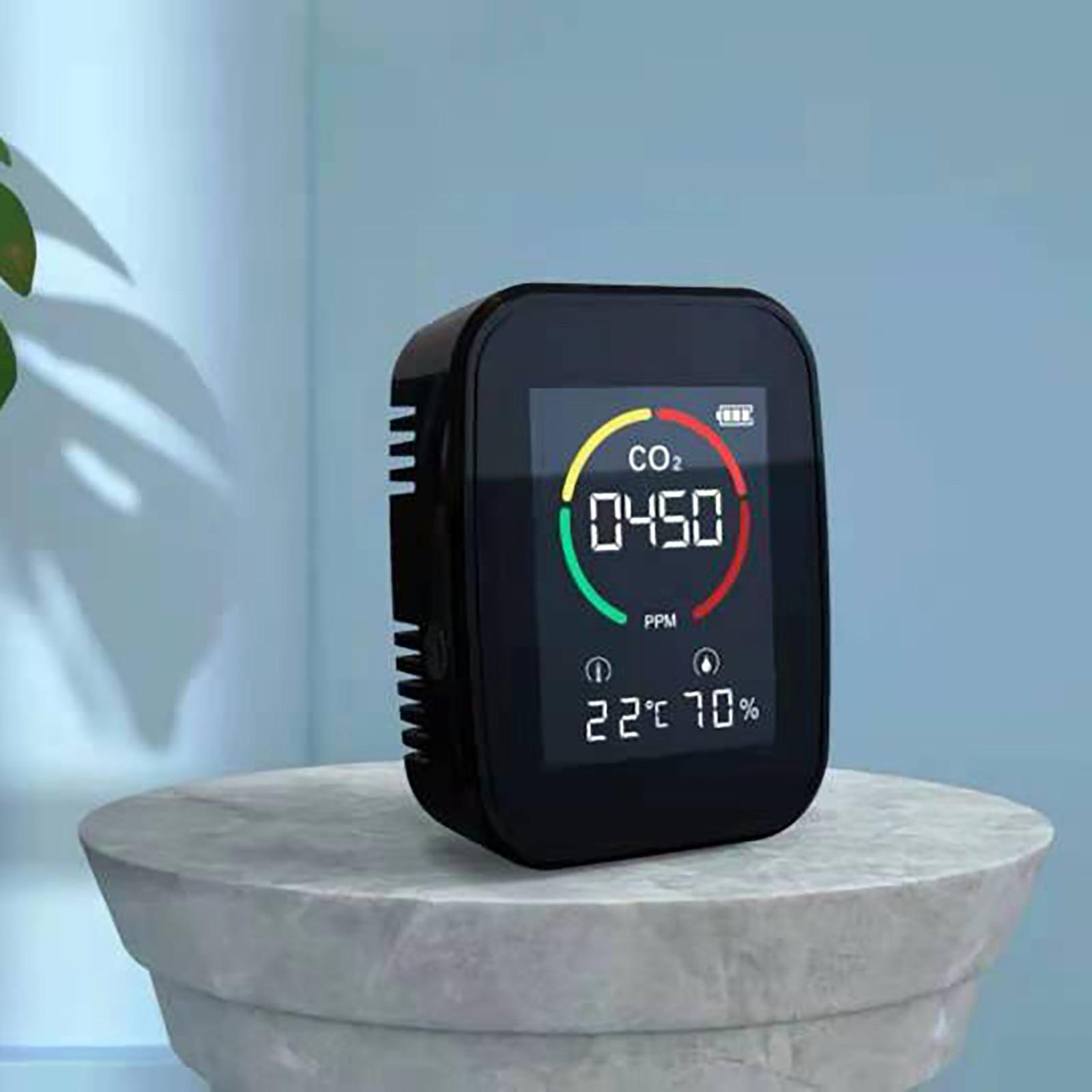 Детектор углекислого газа содержание газа цветной экран интеллект СО2 метр детектор цифровой контроль качества воздуха