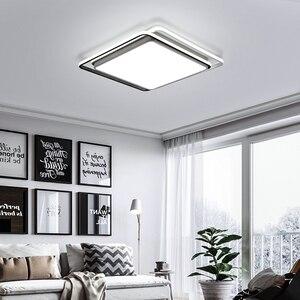 Image 3 - מודרני תקרת אורות מנורת תקרת שחור לבן זהב אהיל באיכות גבוהה תקרת מנורות עבור אוכל חדר שינה משטח רכוב