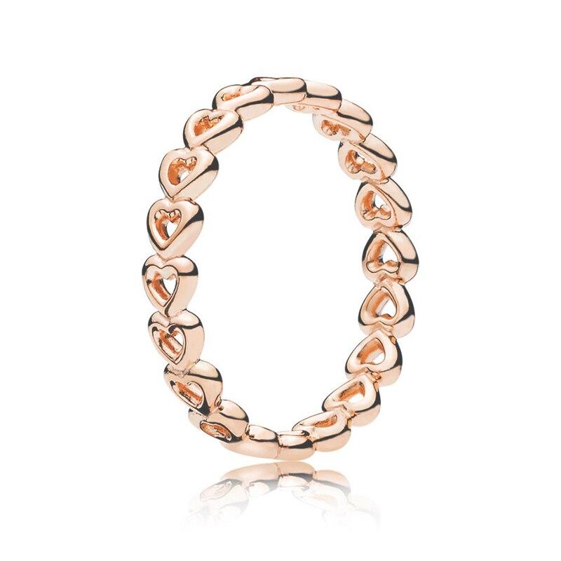 Кольцо на палец в форме сердечко серебряного цвета для женщин, европейская оригинальная Корона, изящные кольца на палец, свадебные украшения, 50 стилей, Прямая поставка - Цвет основного камня: Rings 009