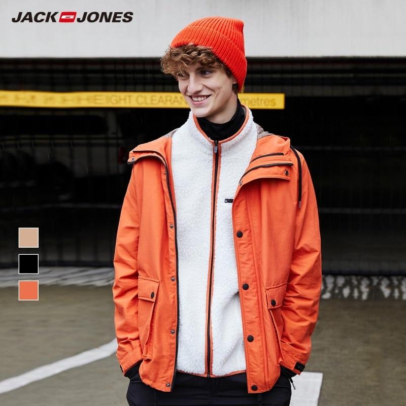 JackJones Men's Parka Coat Comfort Fleeced Lining  Jacket Menswear Style 219309515