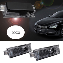 LED Ghost Shadow Car Door Light For BMW Logo Projector Welcome E90 E60 E84 F01 F12 F10 GT F07 F05 M3 M5 E63 E65 X1 X3