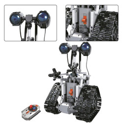 Rc blocos de construção robô 408 pces controle remoto robôs elétricos designer compatível com engenharia toysrc carro