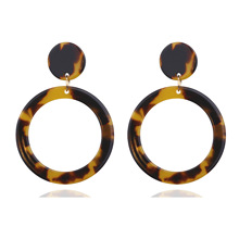 Acrylic Earrings Resin Drop Dangle Statement Bohemian for Women Girls